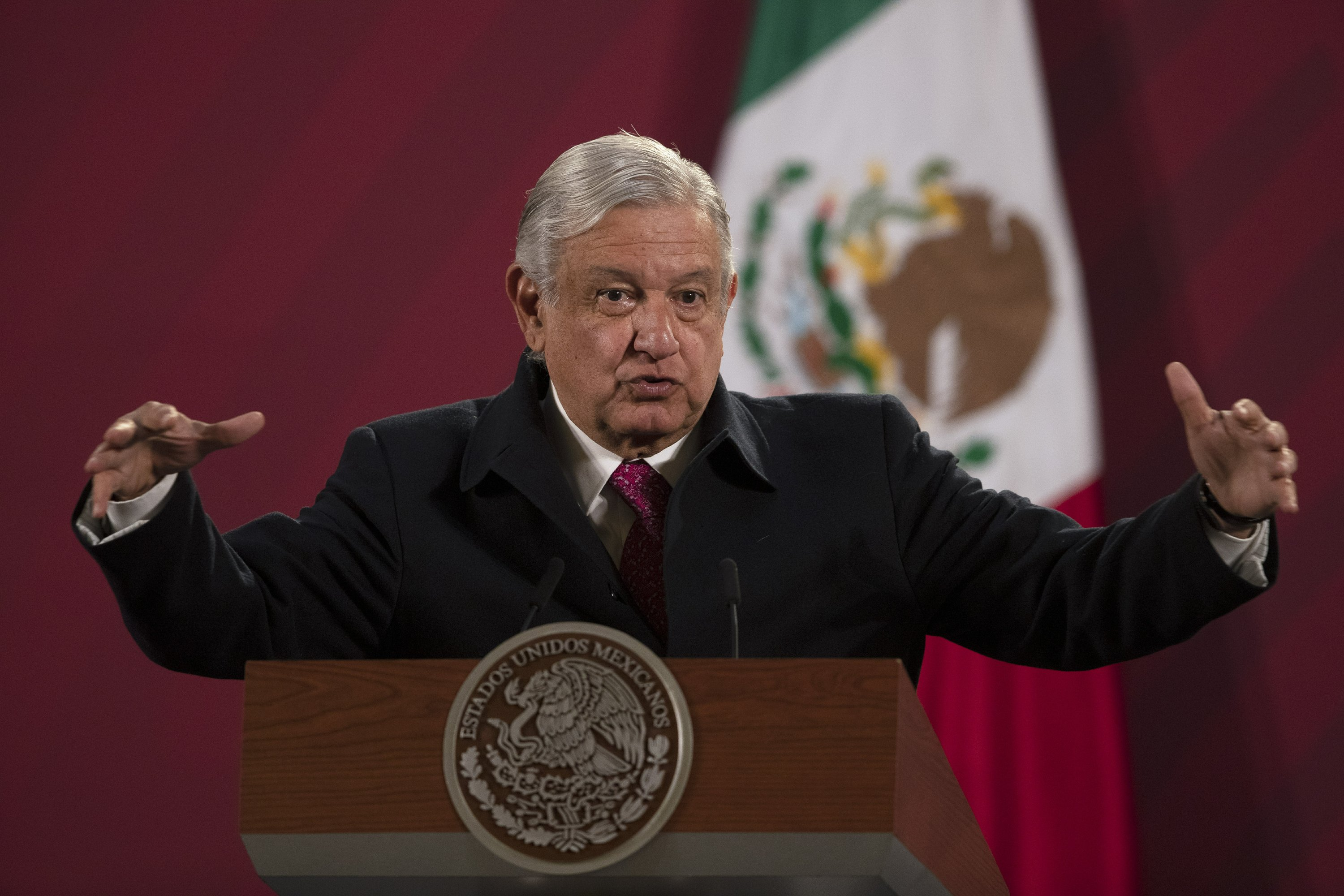 Mexican president mounts campaign against social media bans