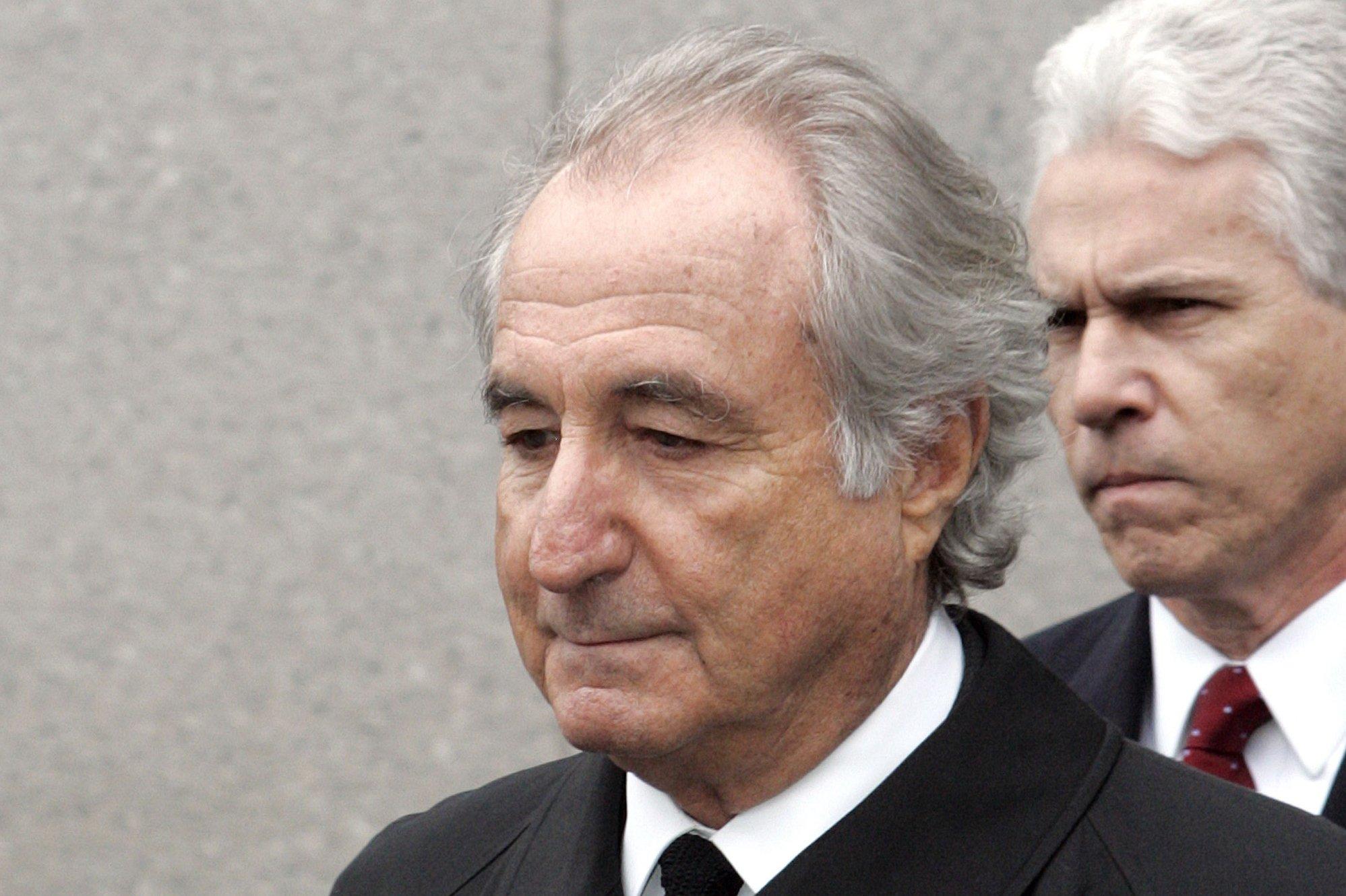 AP source: Ponzi schemer Bernie Madoff dies in prison