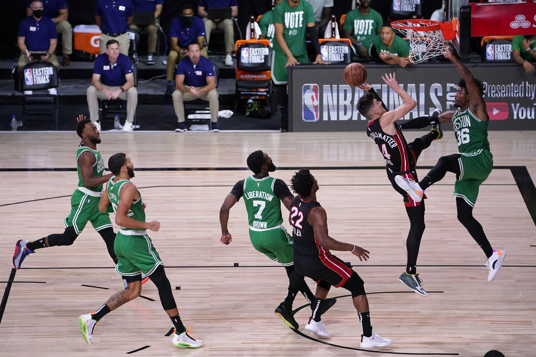 He's a Herro: Heat top Celtics, move a game from NBA Finals