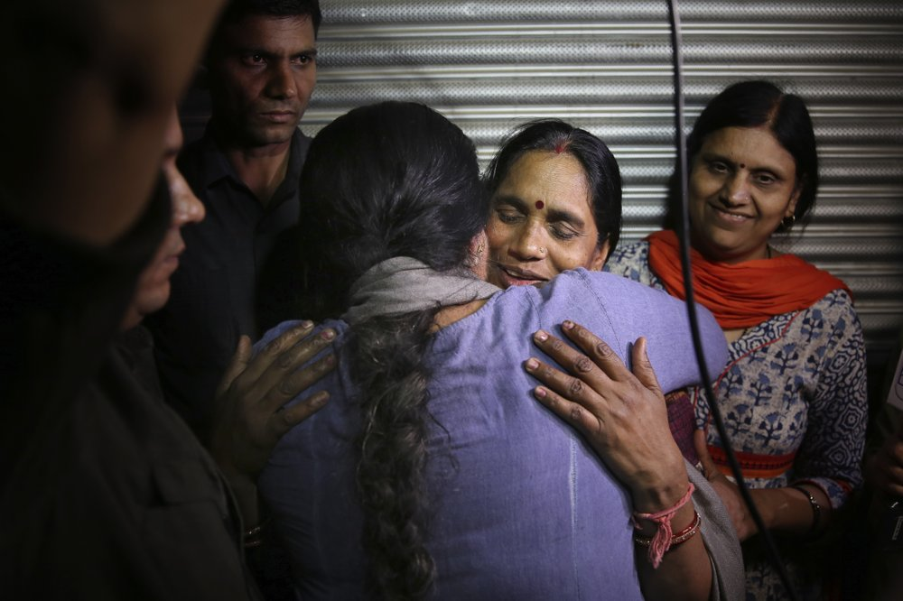 Four Indian rapists sentenced to death by hanging in less than a year after the crime