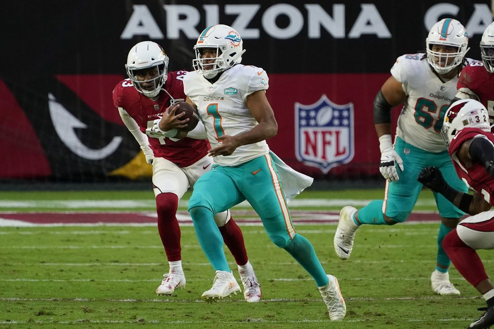Dolphins QB Tua Tagovailoa approaches anniversary of college injury grateful to be given chance with Miami