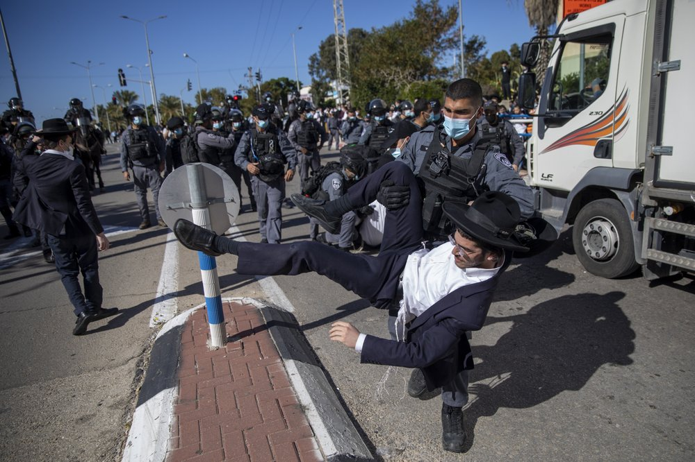 Israel's ultra-Orthodox Jews defiance of coronavirus restrictions causes public anger, clashed with police