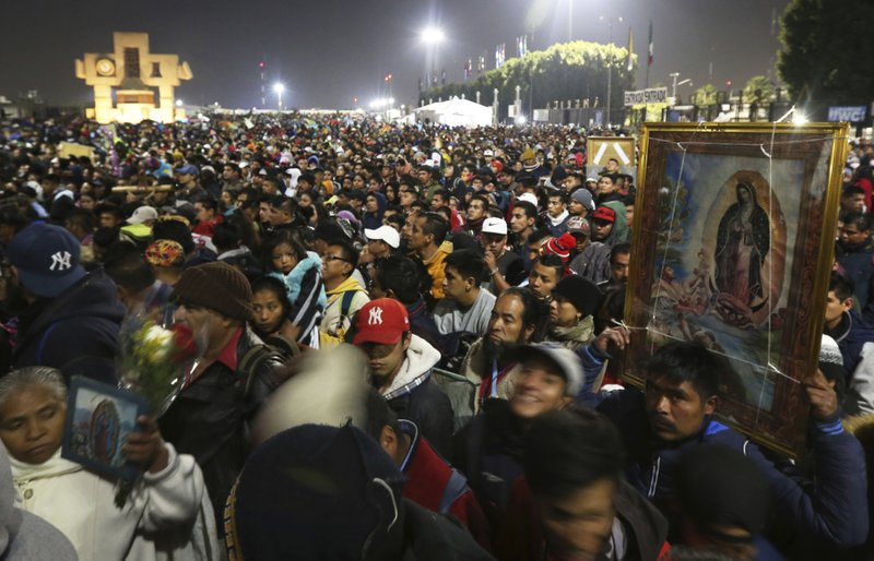 Mexico's Roman Catholic Church cancels largest pilgrimage for the Virgin of Guadalupe due to coronavirus pandemic