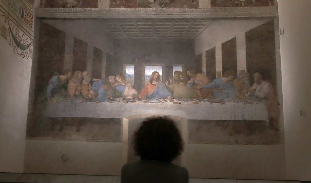 "Leonardo da Vinci's ""Last Supper"" reopens to public with short wait"