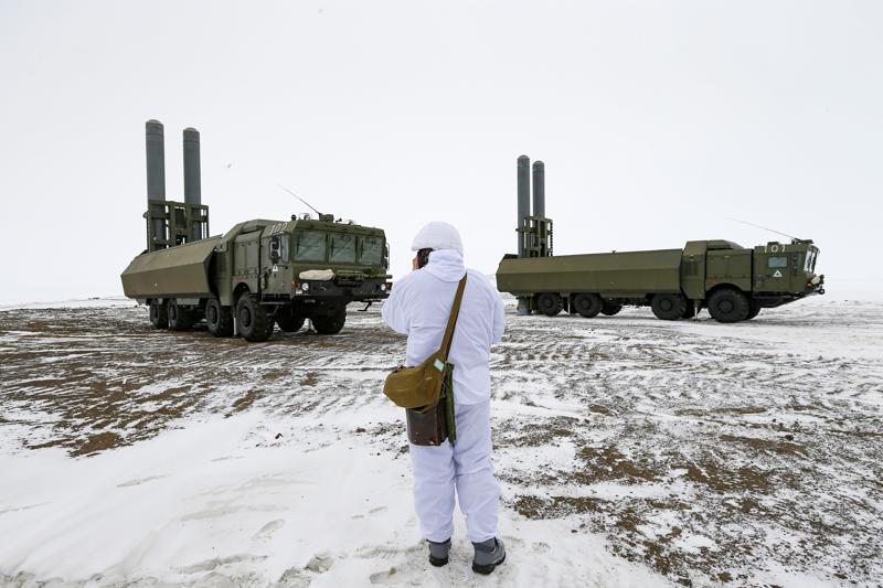 """Russia""""s northernmost base projects its power across Arctic"""
