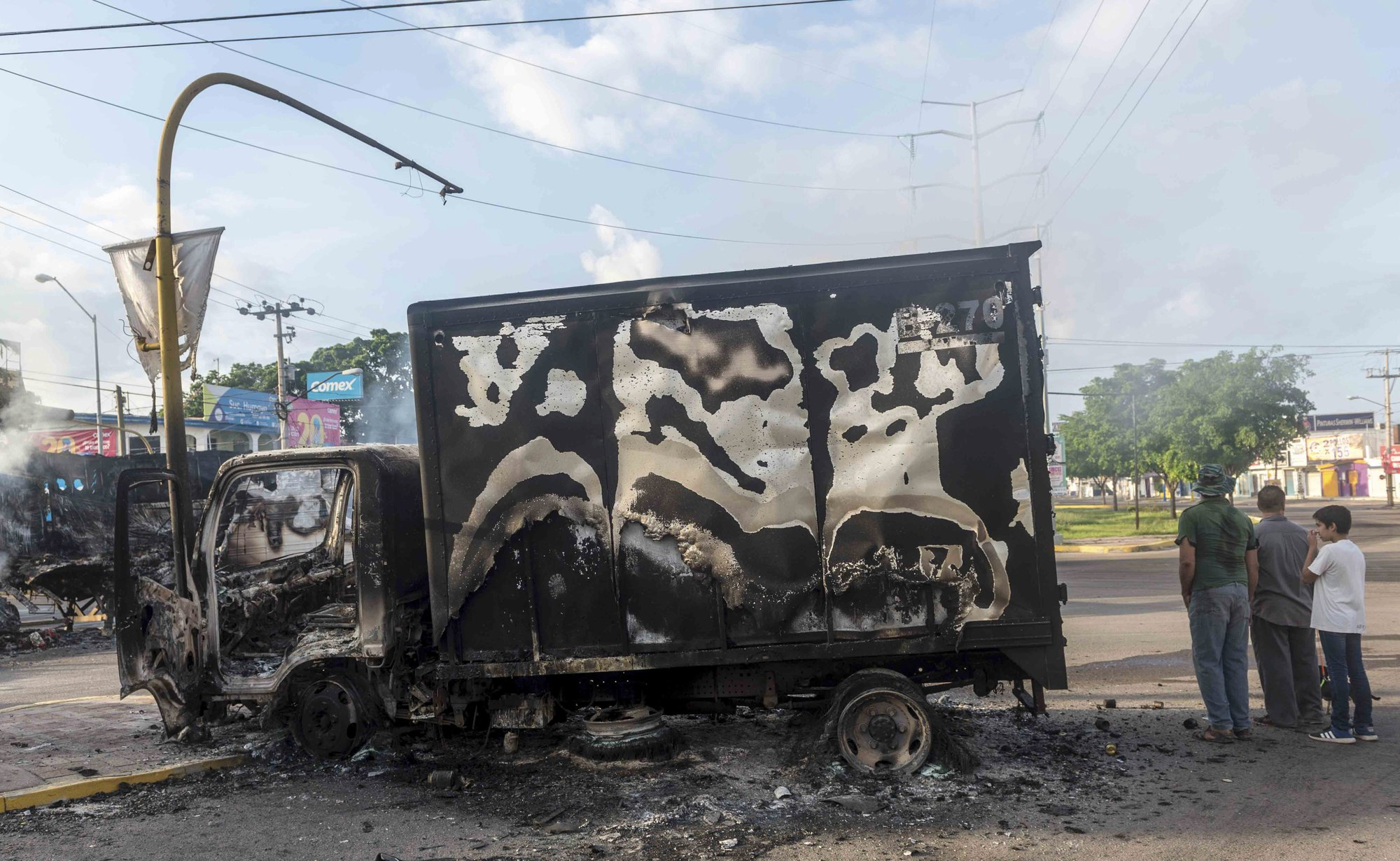 North Mexico city of Culiacan cleans up after cartel fight