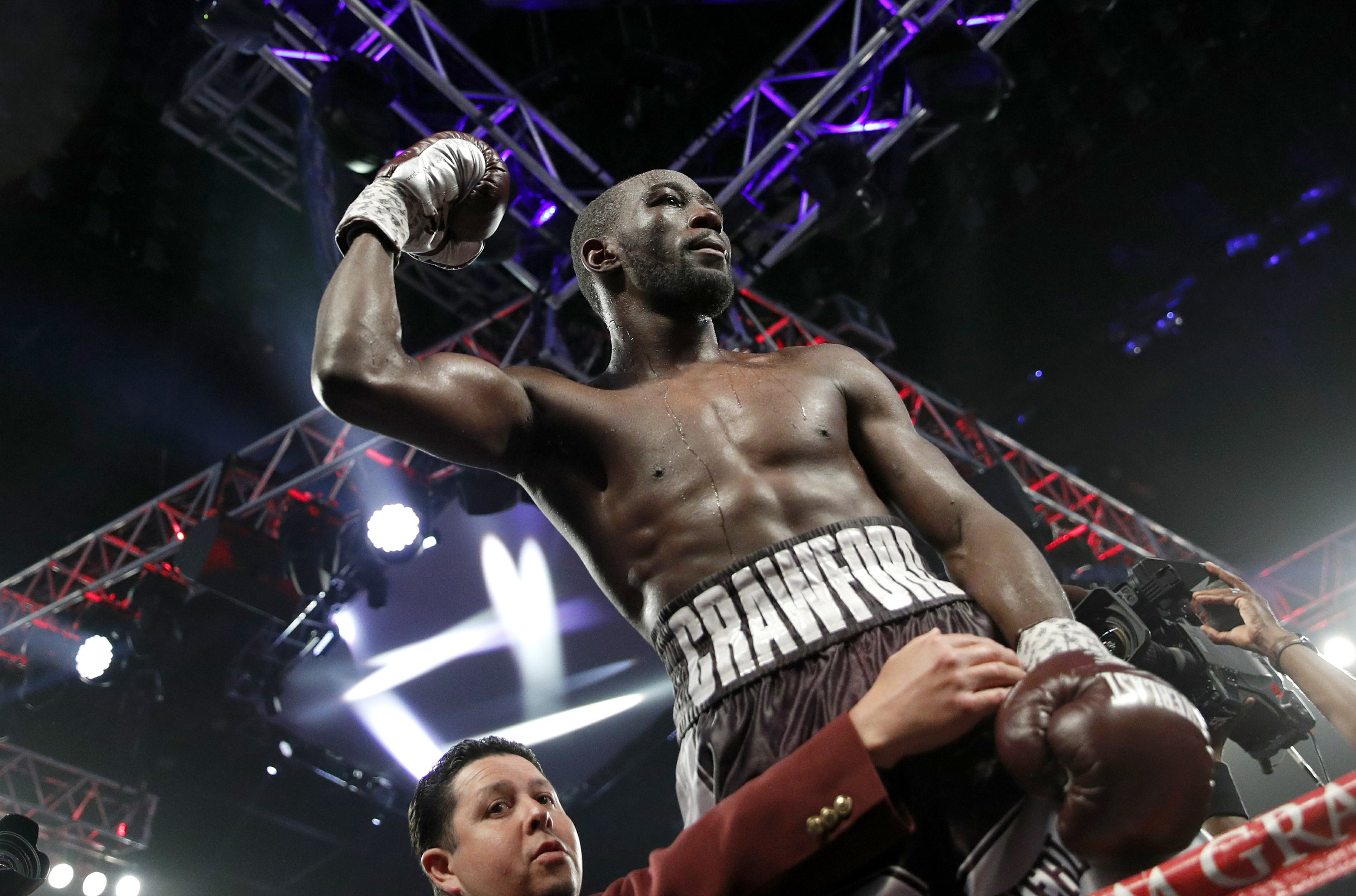 Welterweight Crawford out to make his case as boxing's best