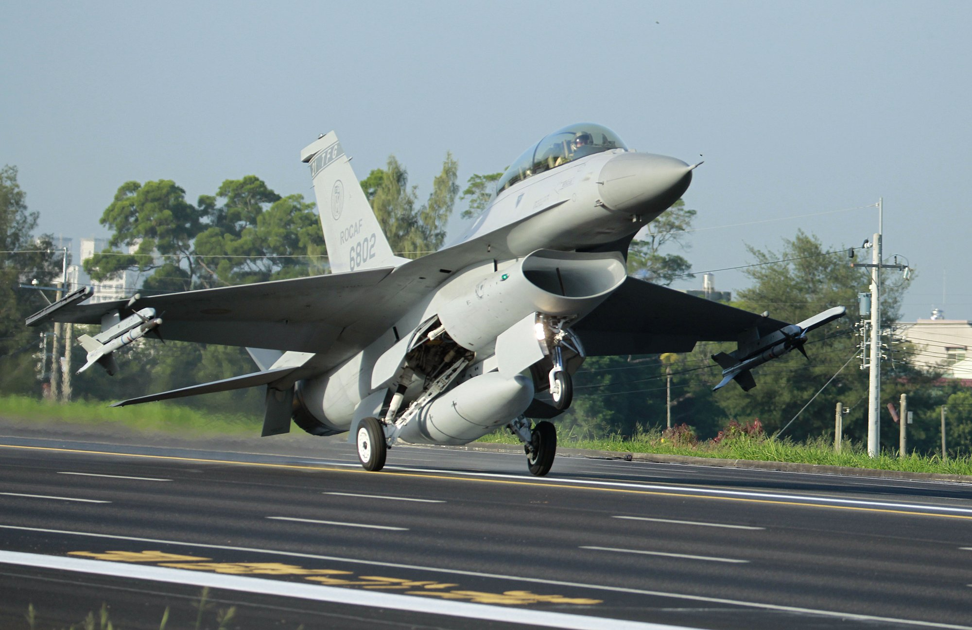 Taiwan's Tsai expresses thanks over approval of F-16V sale