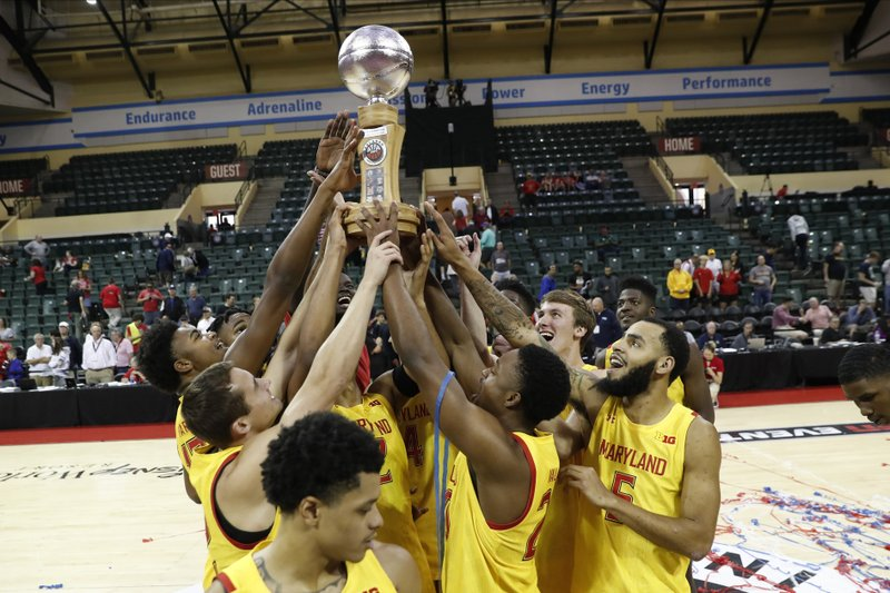 No 5 Maryland Beats Marquette To Win Orlando Invitational
