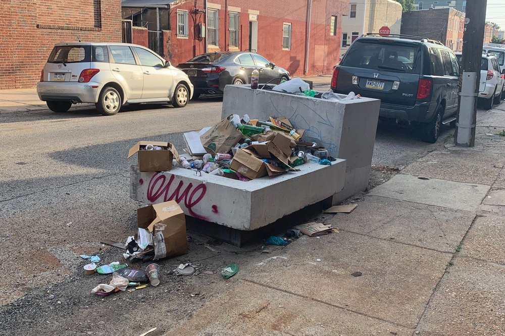 Cleanliness is next to godliness: Trash piles up in the City of Brotherly Love