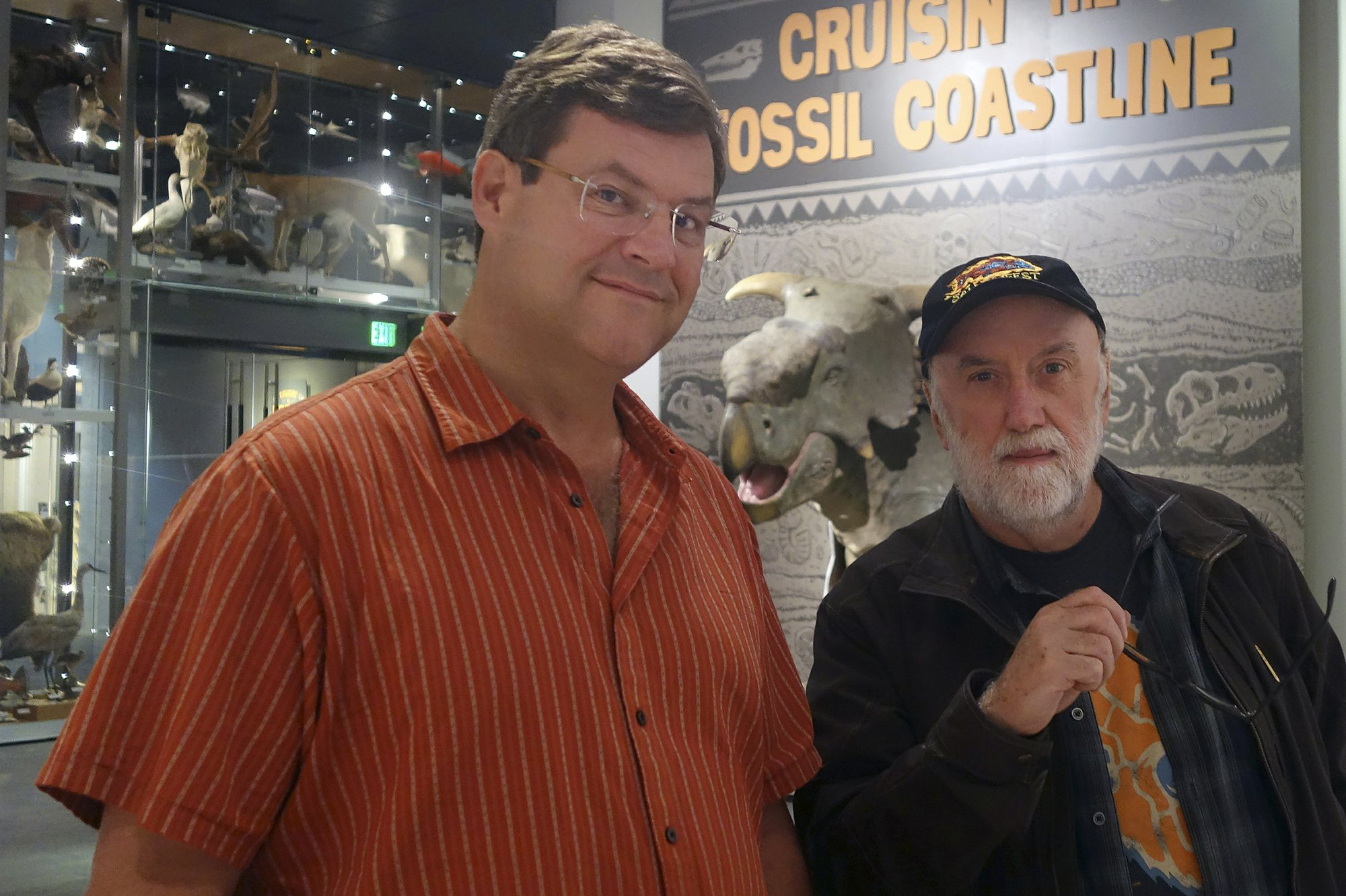 Paleontologist and artist are longtime collaborators
