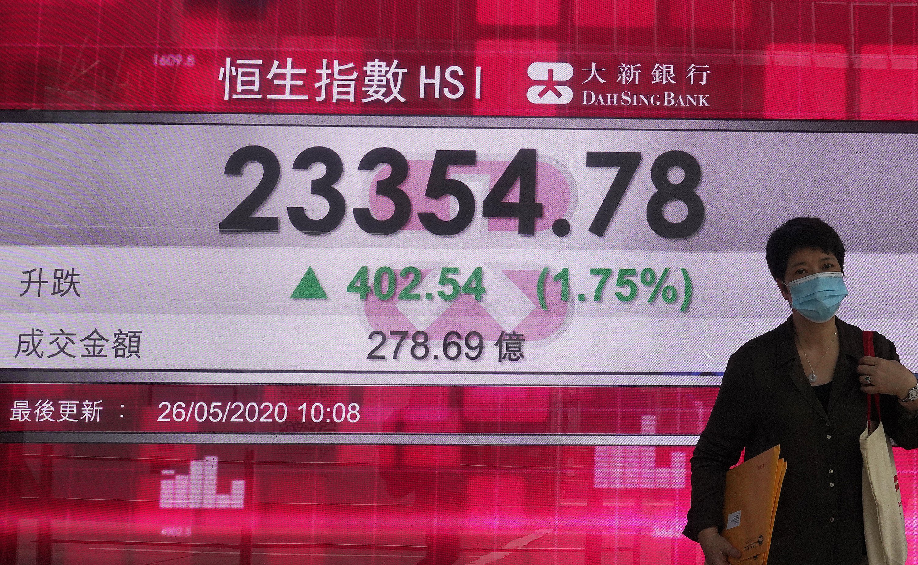 Asian shares up as recovery hopes overshadow virus worries