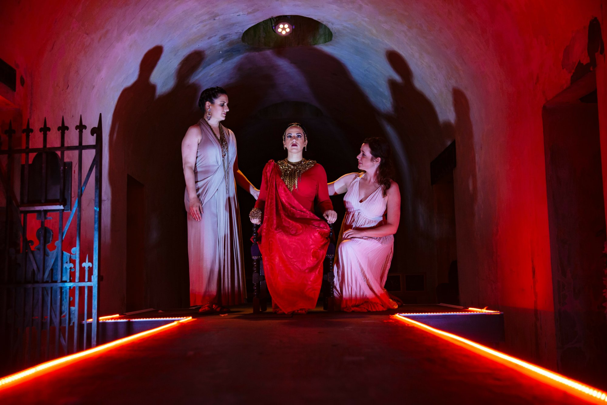 Purcell opera performed in cemetery catacombs