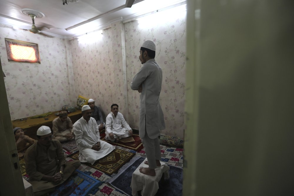 Muslims in India and Bangladesh joined prayers to celebrate a subdued Eid-al Fitr