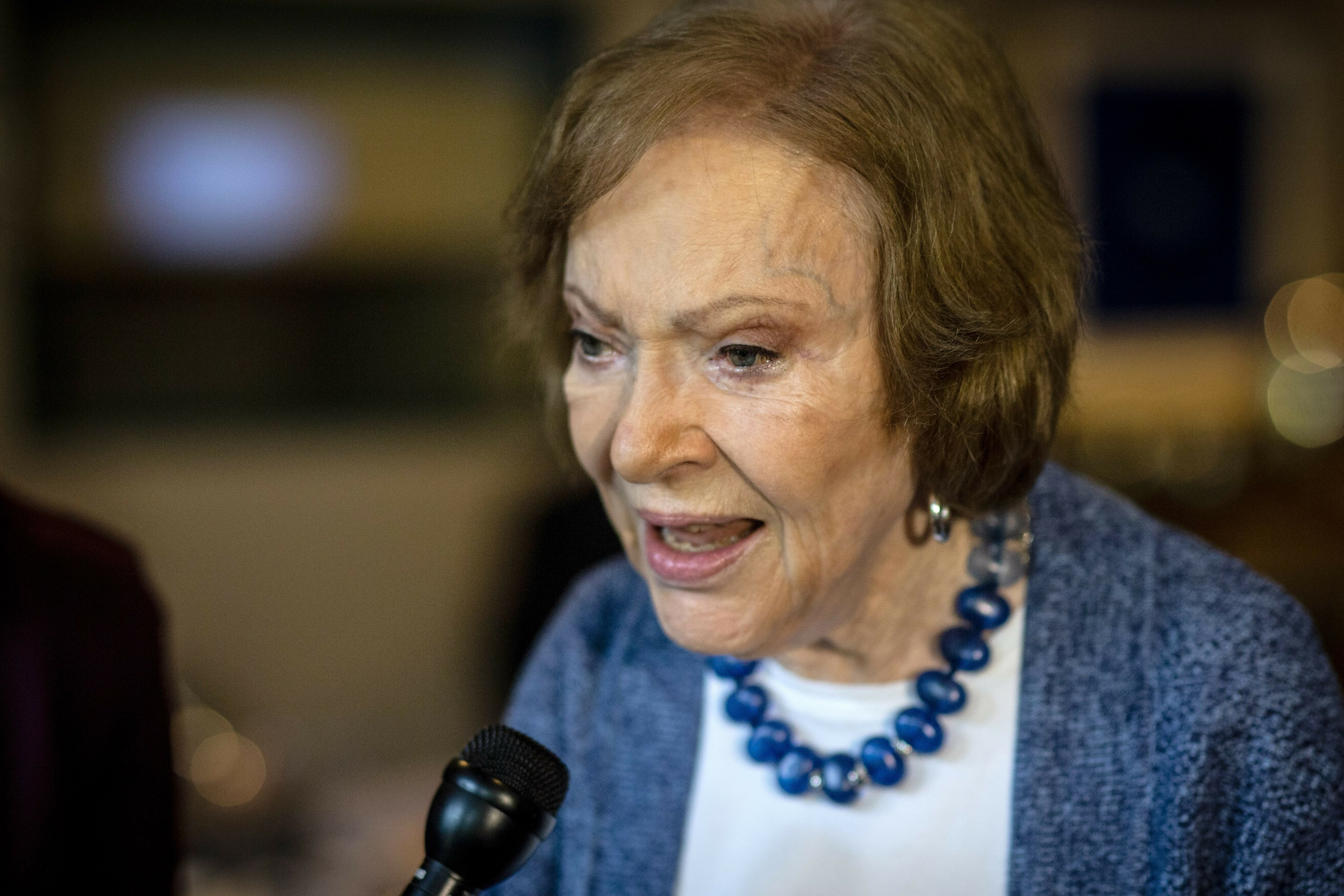 Rosalynn Carter Says Husband Doing Really Well After Fall