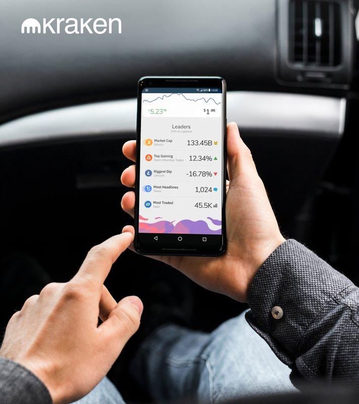 kraken crypto app