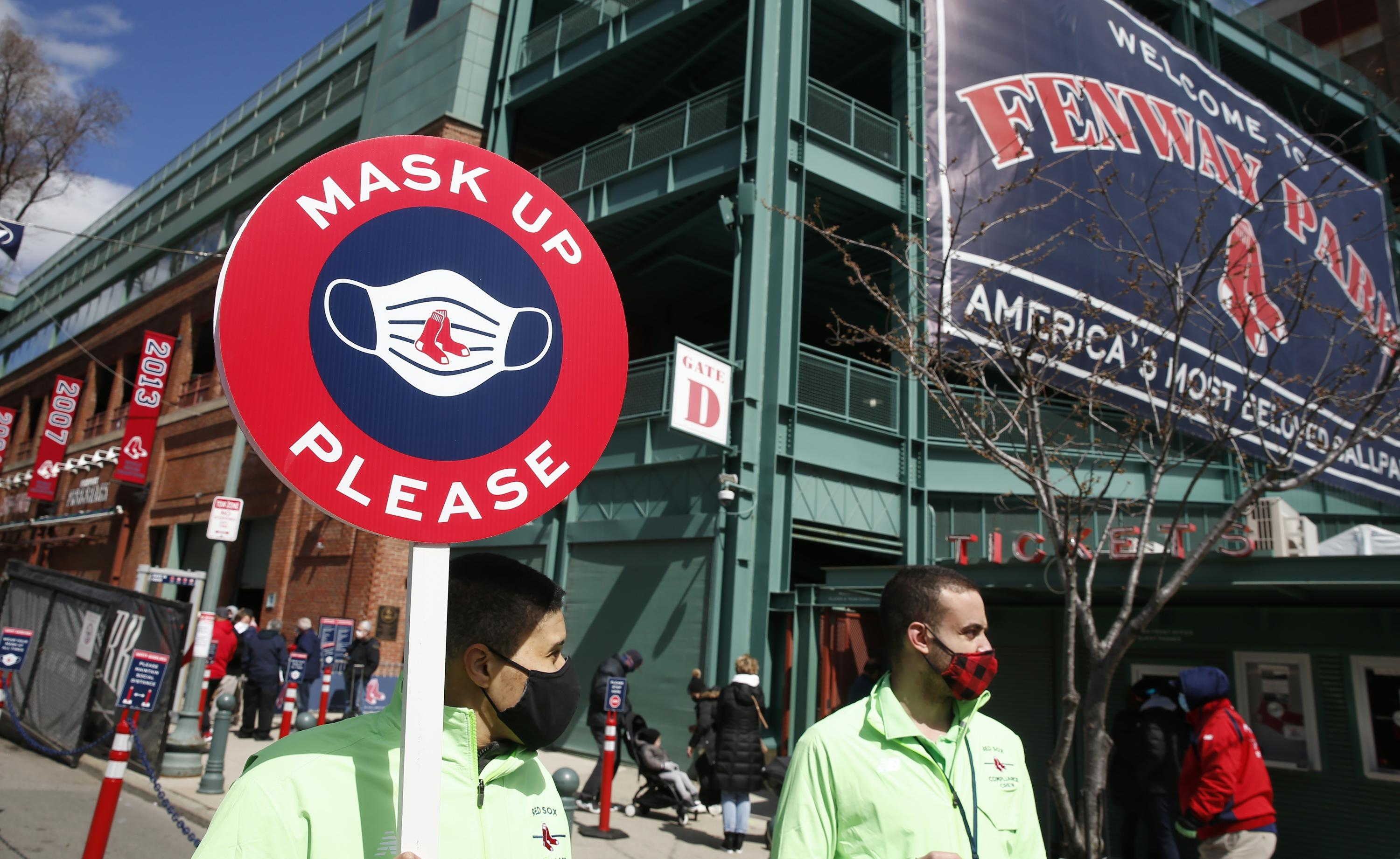 LEADING OFF: Patriots' Day at Fenway, Twins still on pause