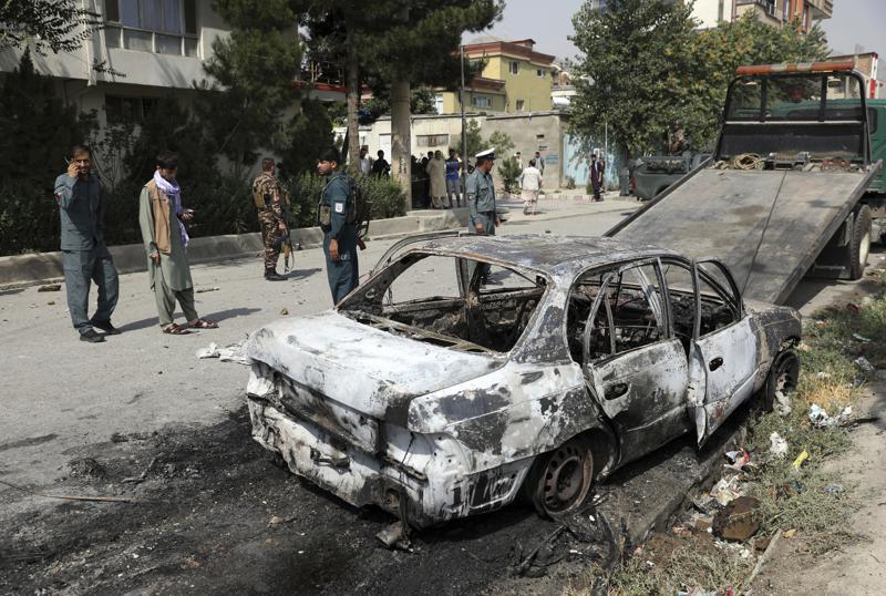 Afghan president slams Taliban; rockets target Kabul palace, Harbouchanews