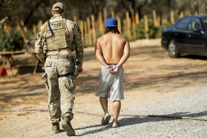 Report: Pot arrests still fall heavily on Hispanics, Blacks