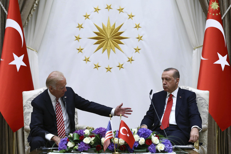 Erdogan and Biden meet at a tense moment for Turkish-US ties