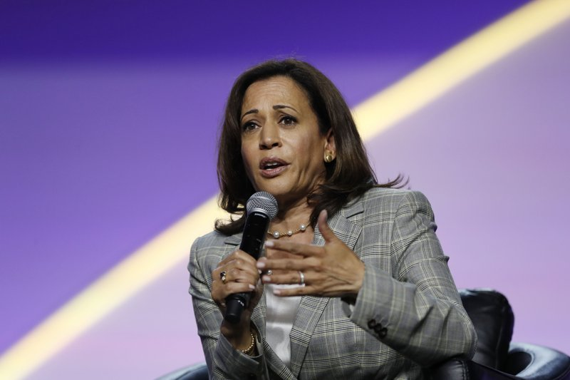 AP FACT CHECK: Harris cherry-picks health insurance stats
