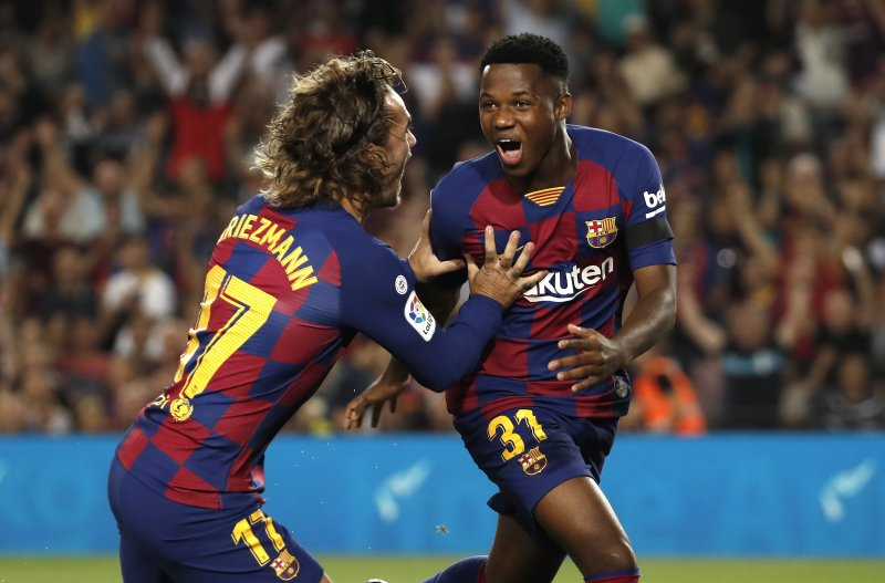 Barca Teen Ansu Fati Leads Rout Of Valencia Sets New Record