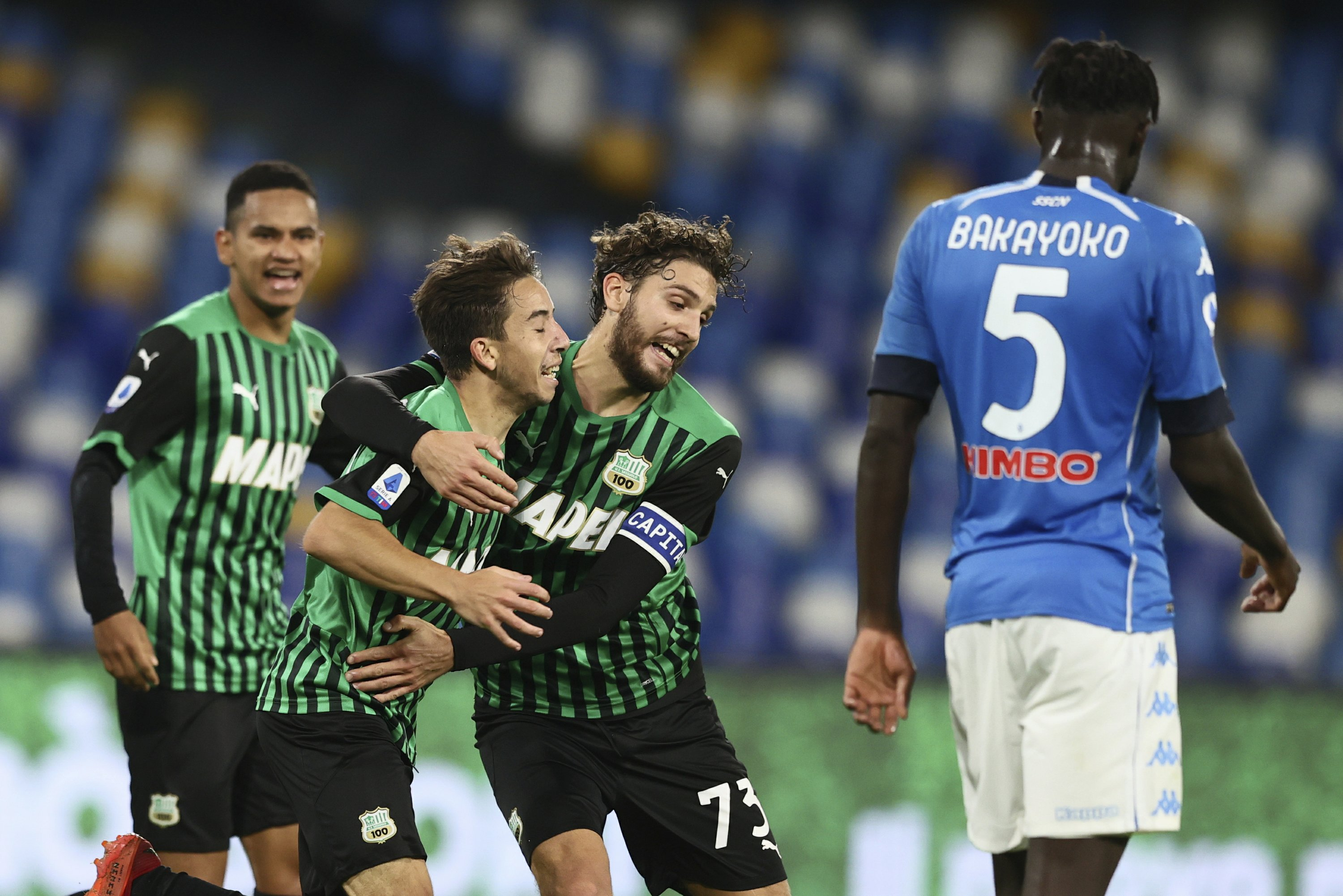 Another Atalanta: Sassuolo is Italy's next surprise