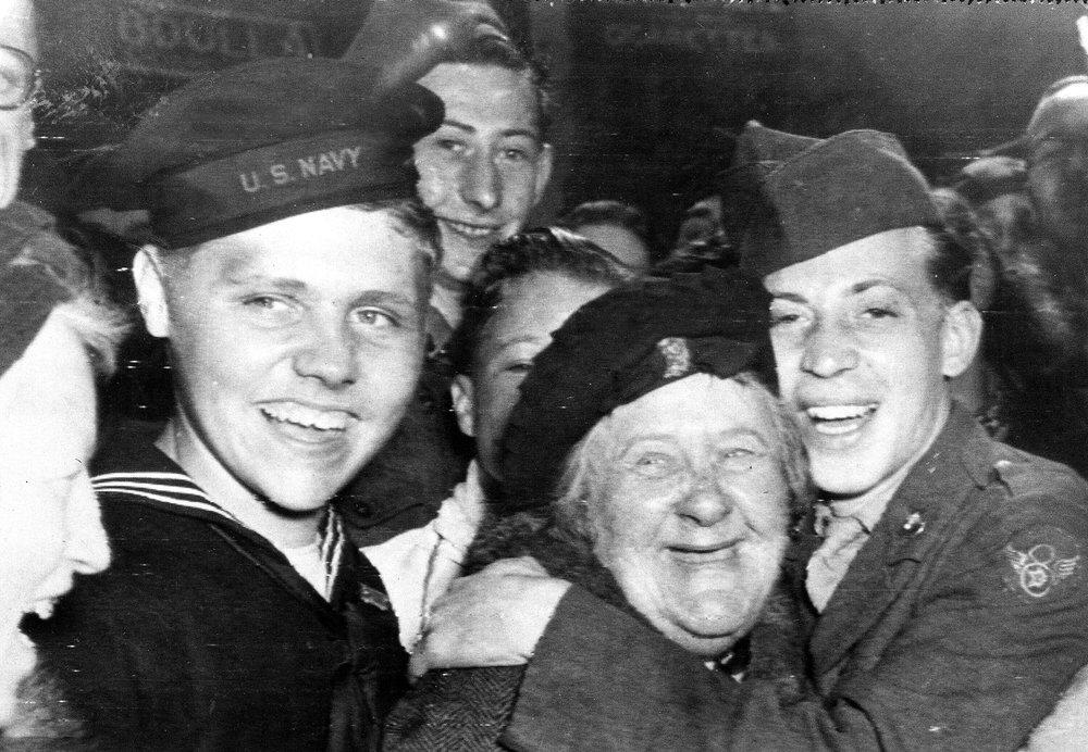 Memories aren't confined: Nazis surrender ending World War II