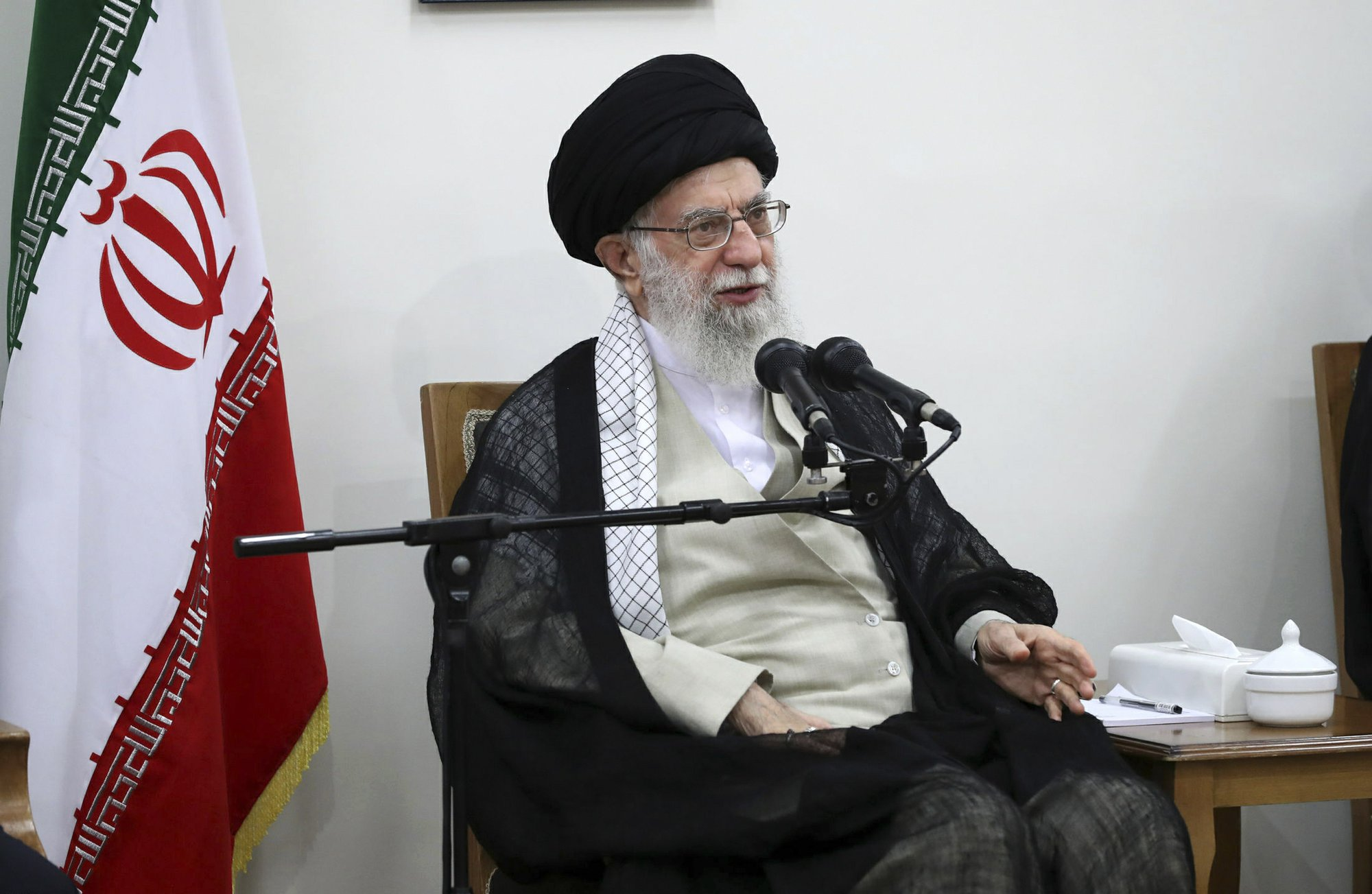 The Latest: Envoy says Iran could soon exceed uranium limits
