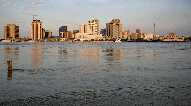 Louisiana faces triple threat of storm surge, river, rain