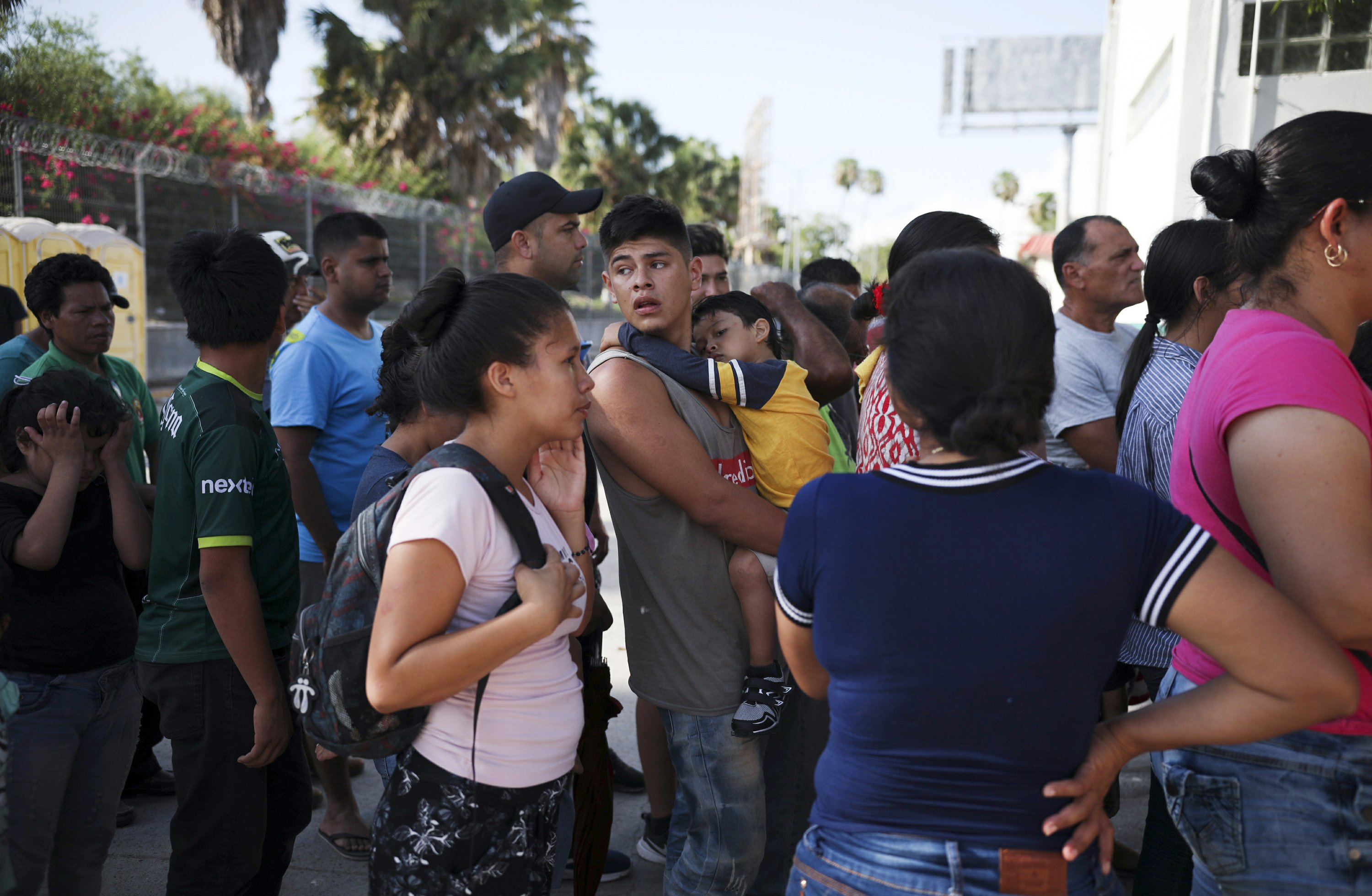 US gives hope to previously denied asylum seekers in camp
