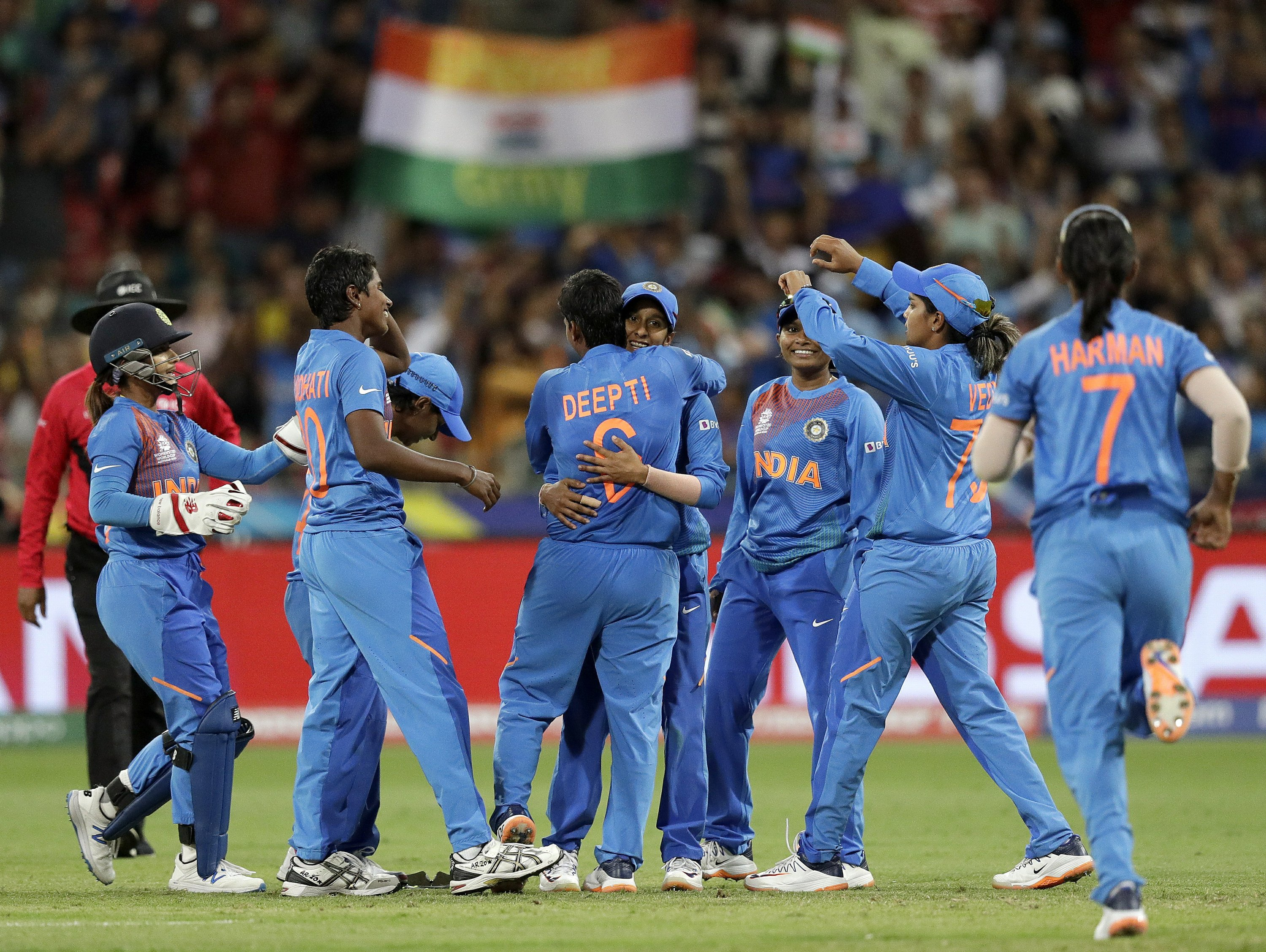 India secures semifinal spot at Women's Twenty20 World Cup
