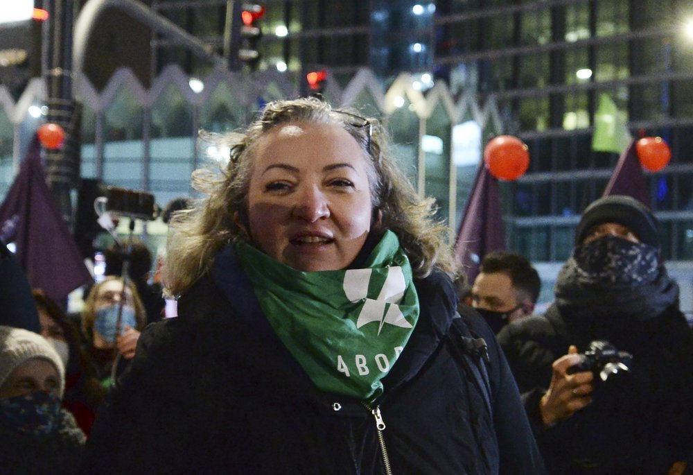 Women's rights activist Marta Lempart charged for role in Polish protests