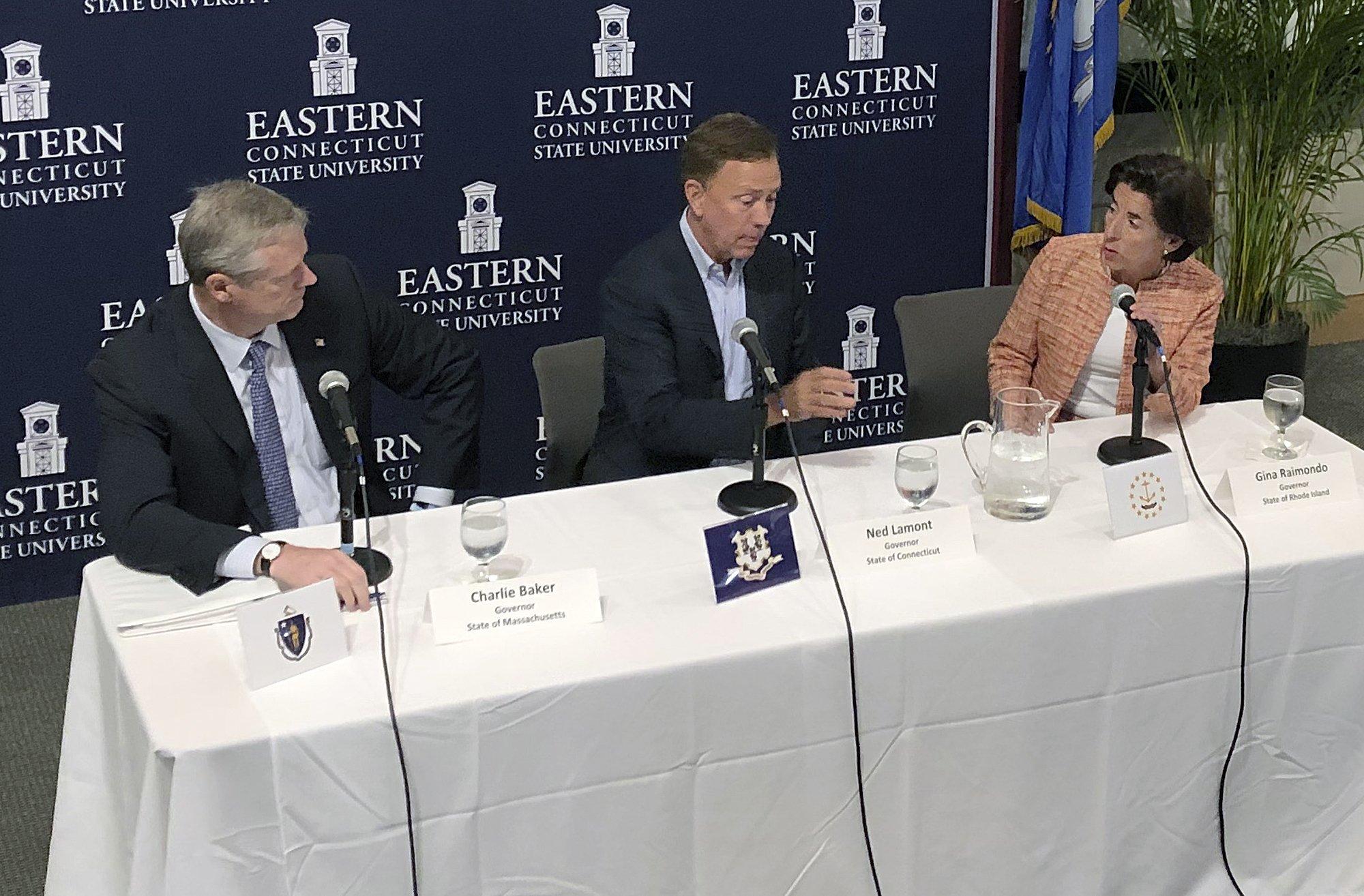 Connecticut, Massachusetts, Rhode Island governors meet