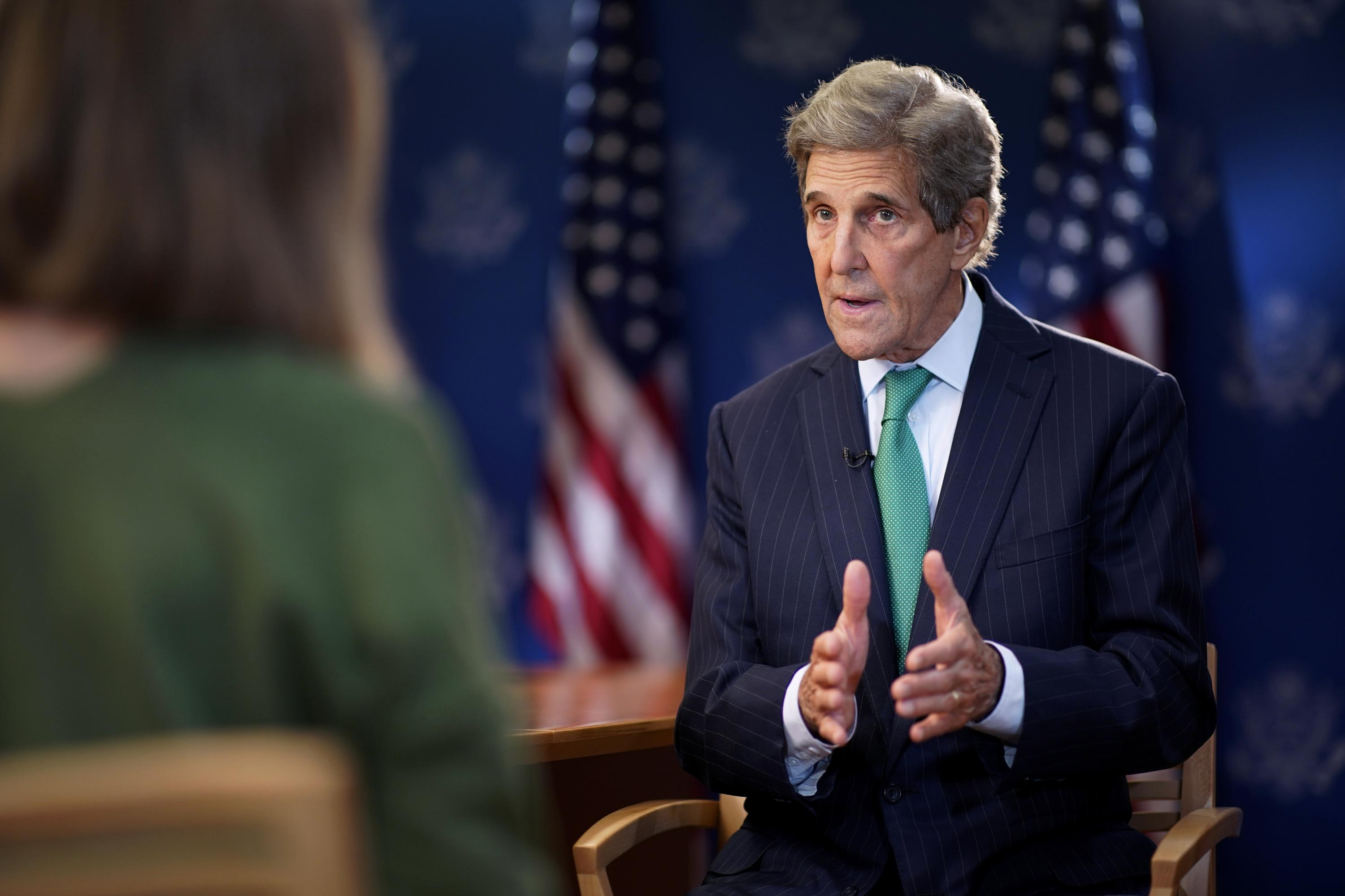 The AP Interview: Kerry says climate talks may miss target - Associated Press