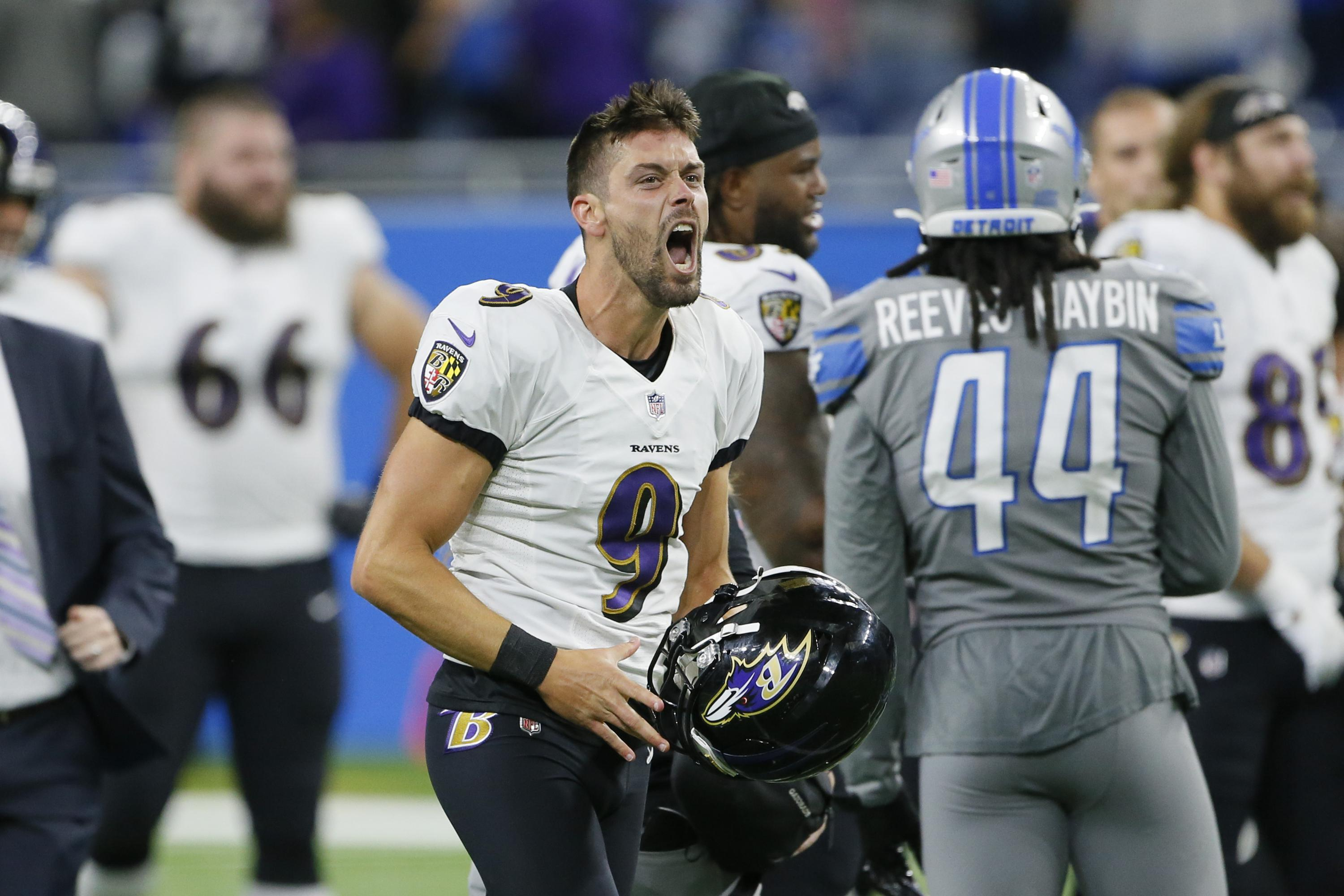 Tucker's NFL-record FG lifts Ravens to 19-17 win over Lions - Associated Press