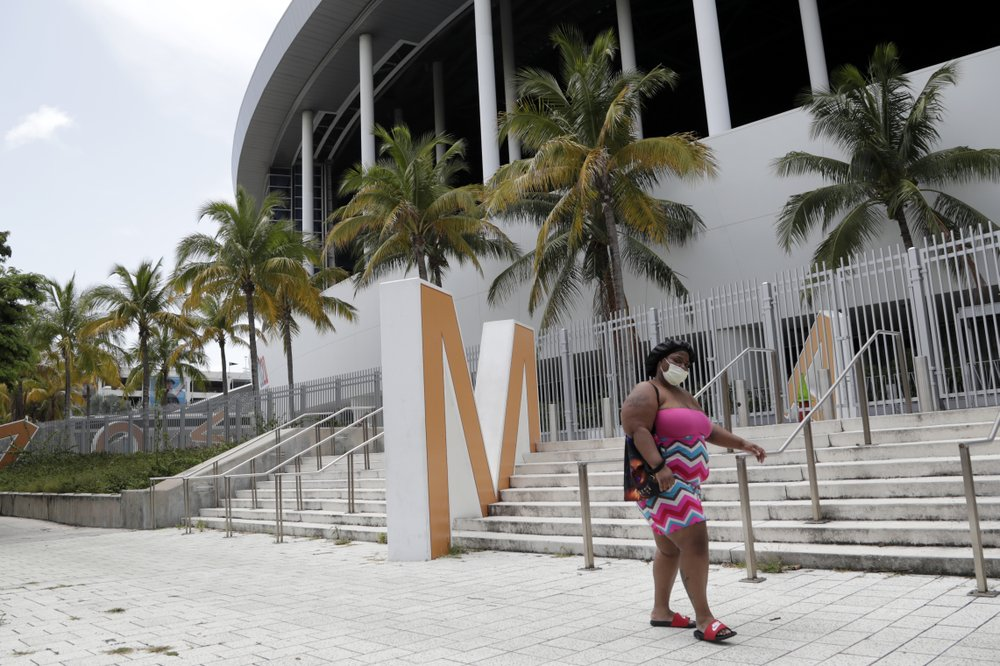 3 MLB games postponed after Marlins players test positive for virus
