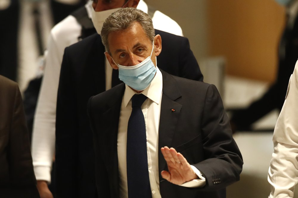 French former President Nicolas Sarkozy convicted of corruption, sentenced a year in jail