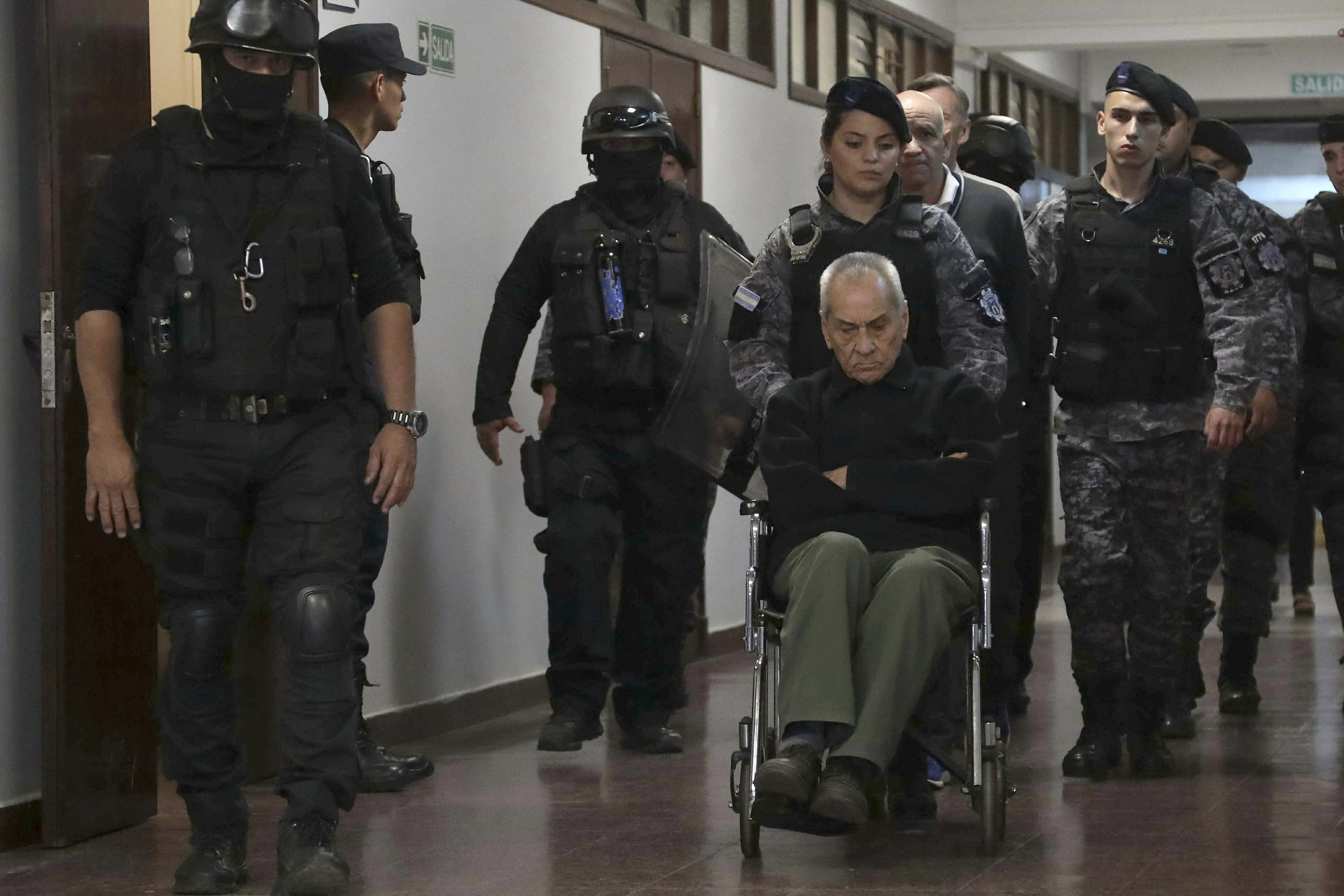 <b>Priests guilty of abusing deaf children at Argentine school</b>