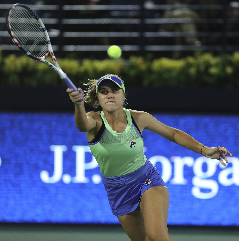 Australian Open champion Kenin loses opening match in Dubai