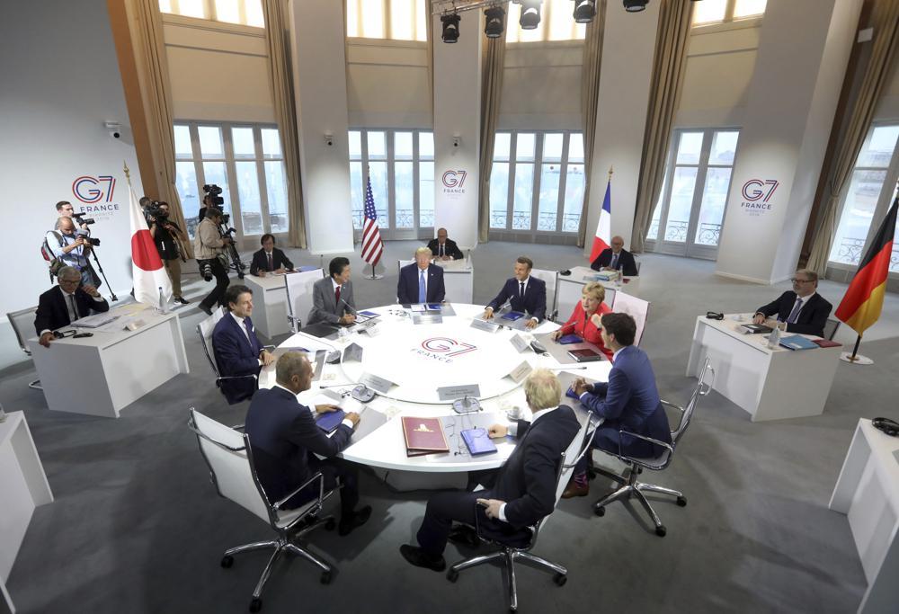 Joe Biden Joins Group of Seven Meeting