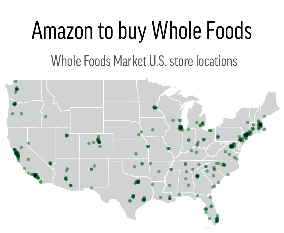 Whole Foods Market Locations On A Map