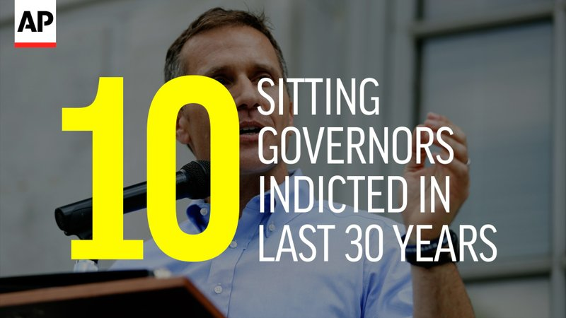 Greitens latest of several US governors indicted
