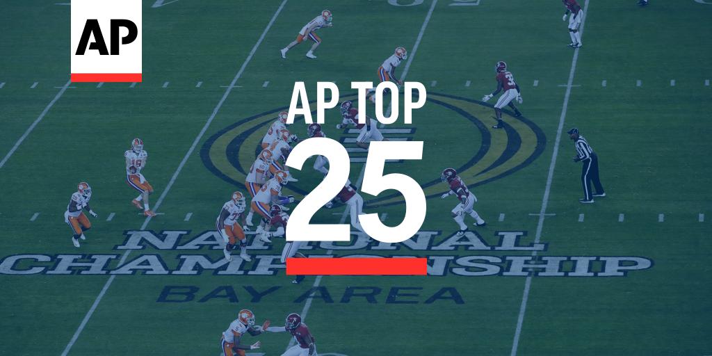 AP Top 25 Poll