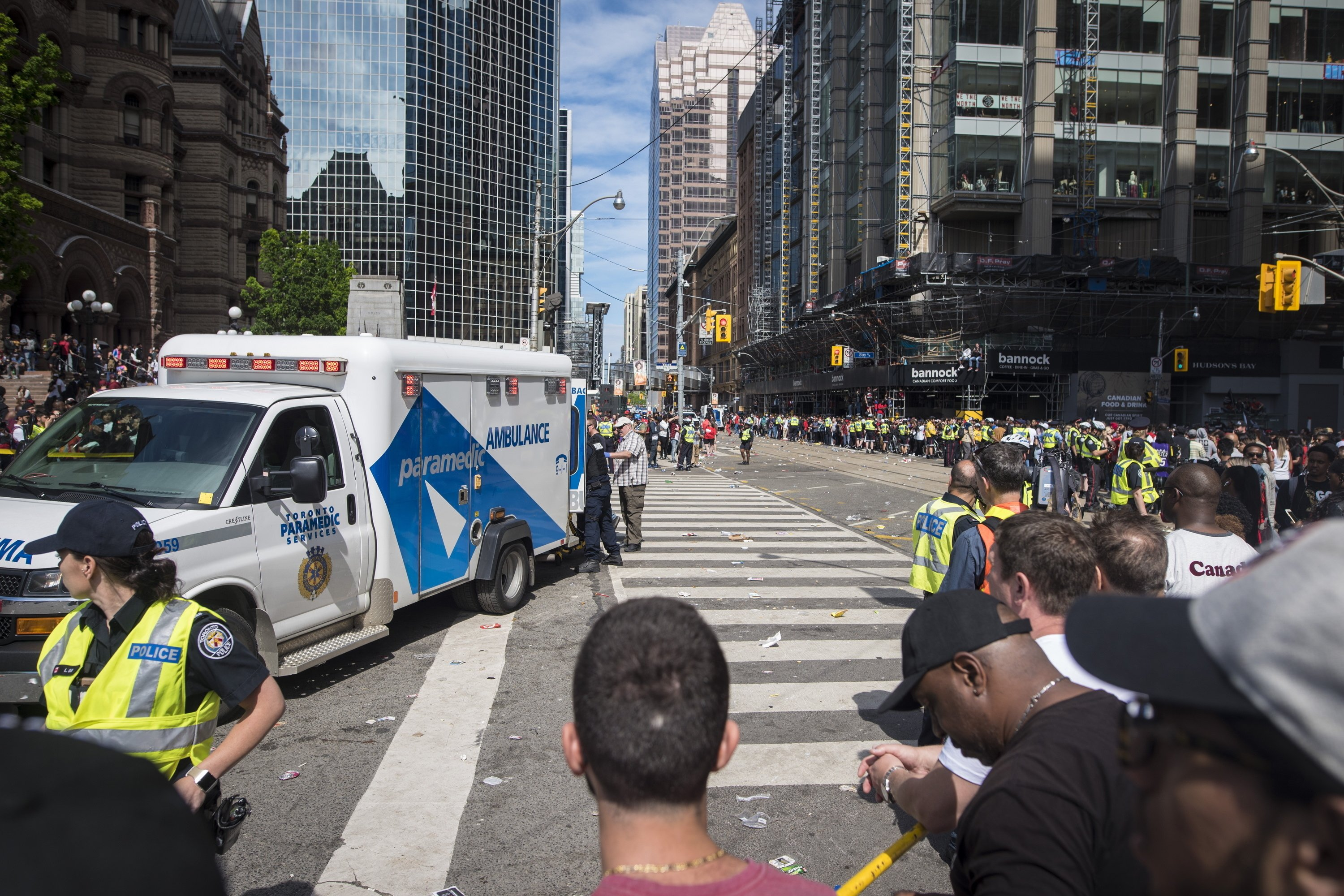 2 shot, 2 arrested at Raptors rally; celebration continues