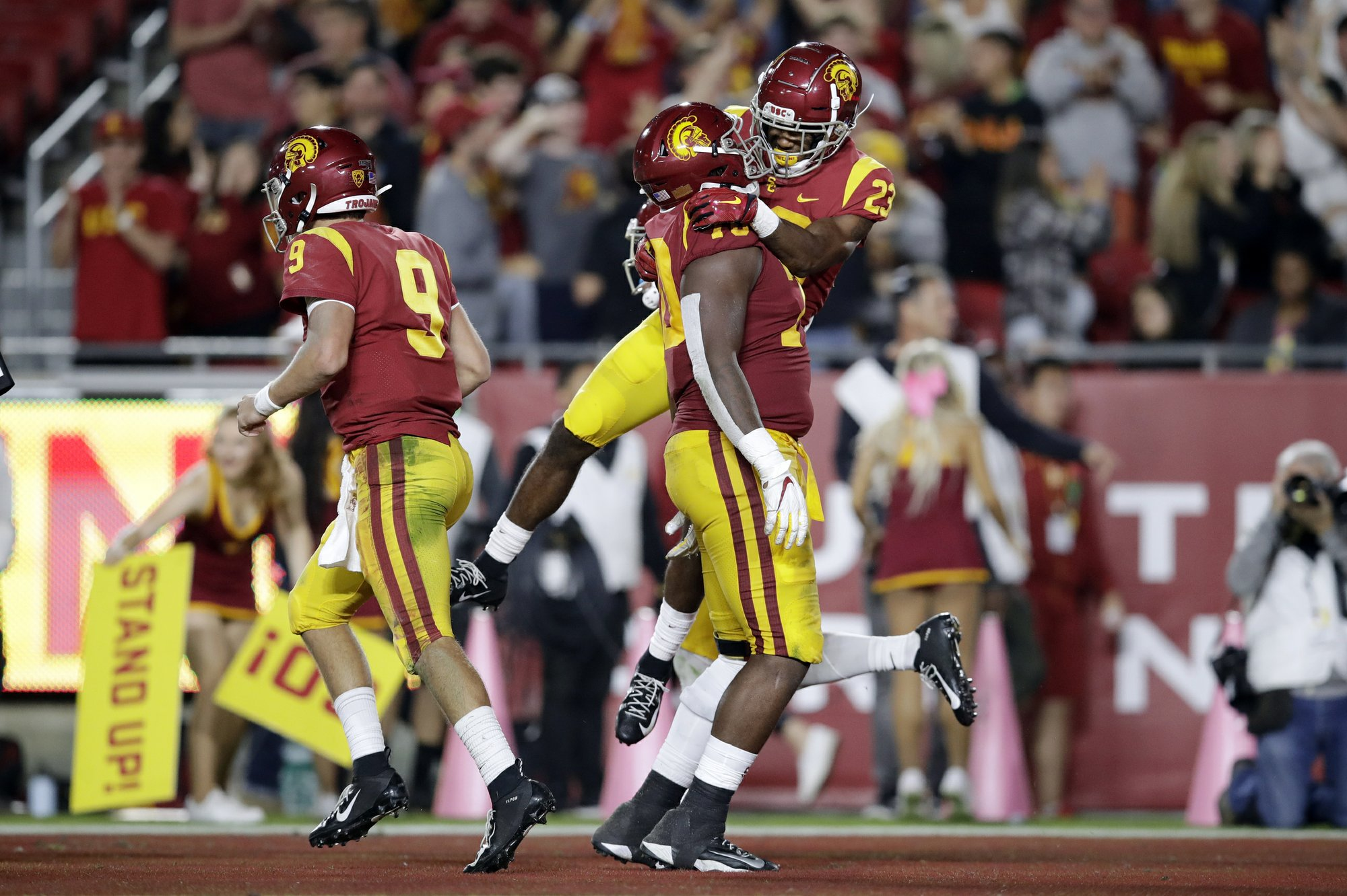 Depleted USC turns to RB Kenan Christon after electric debut