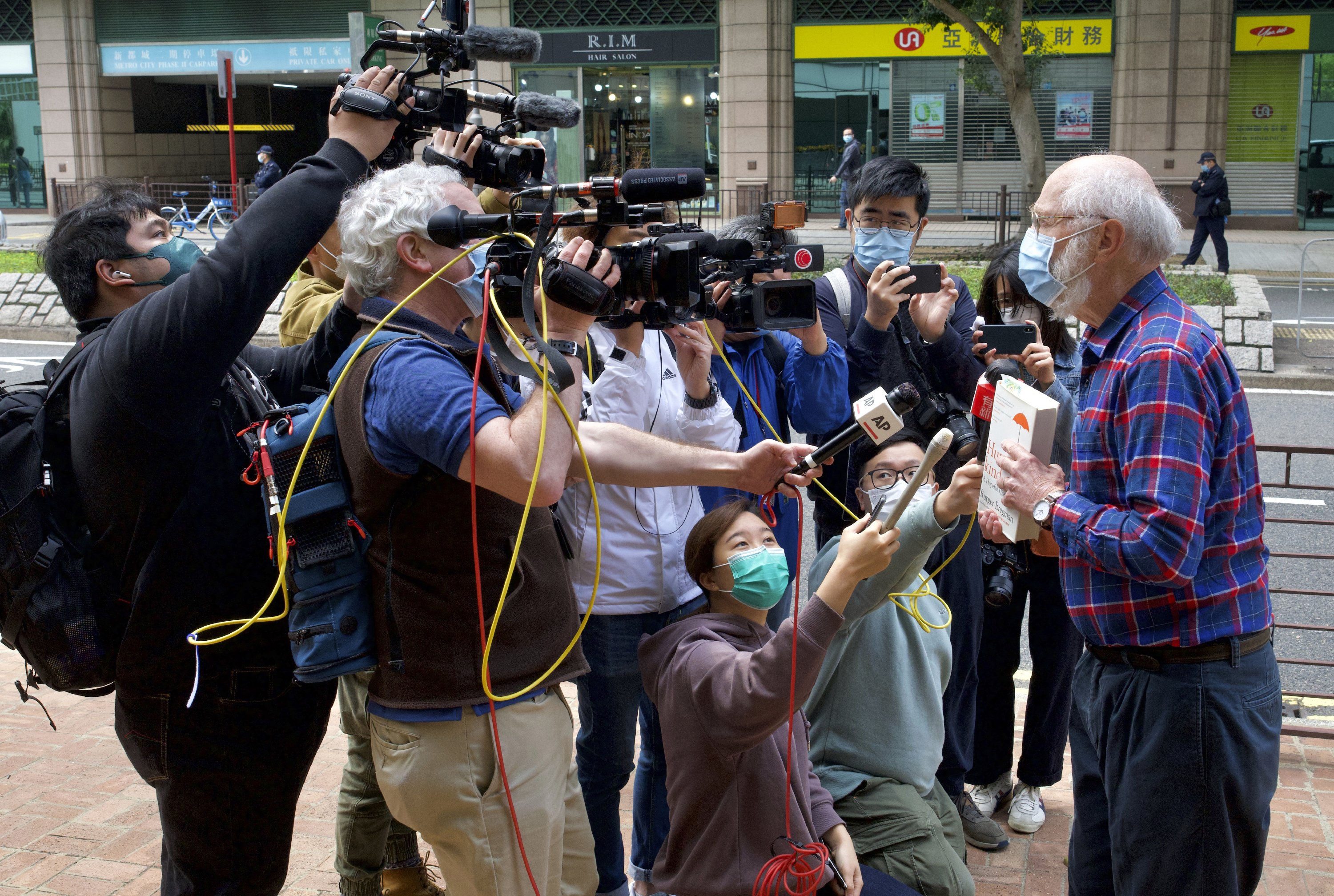 Hong Kong detains 47 activists on subversion charges - The Associated Press