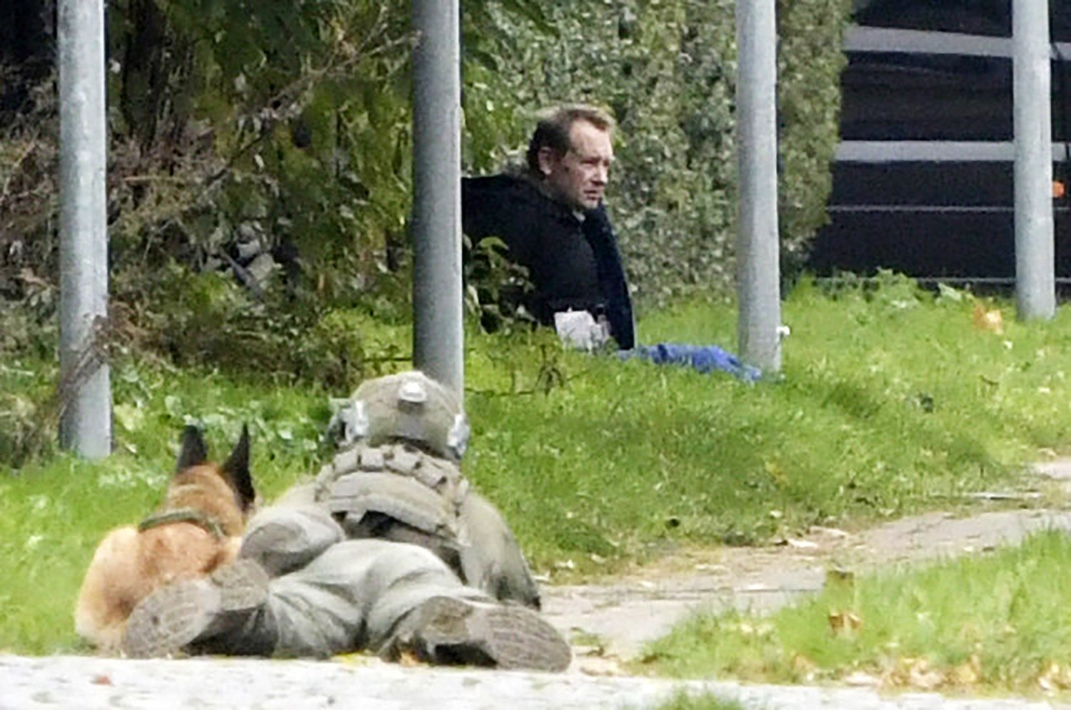 Danish submarine killer briefly escapes from prison