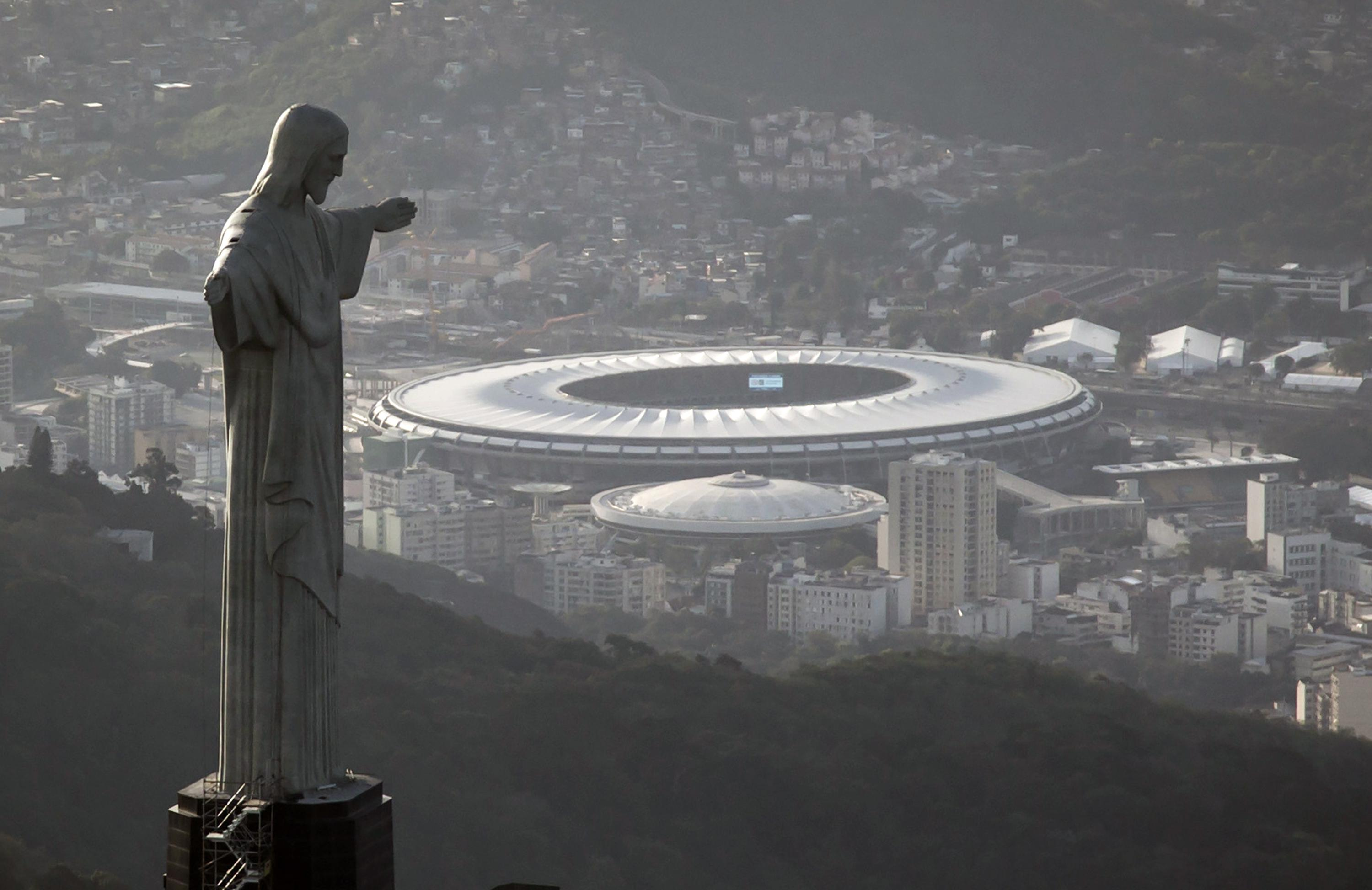 How Rio's Christ the Redeemer Statue Is Being Used To Discourage Widespread Brazilian Corruption