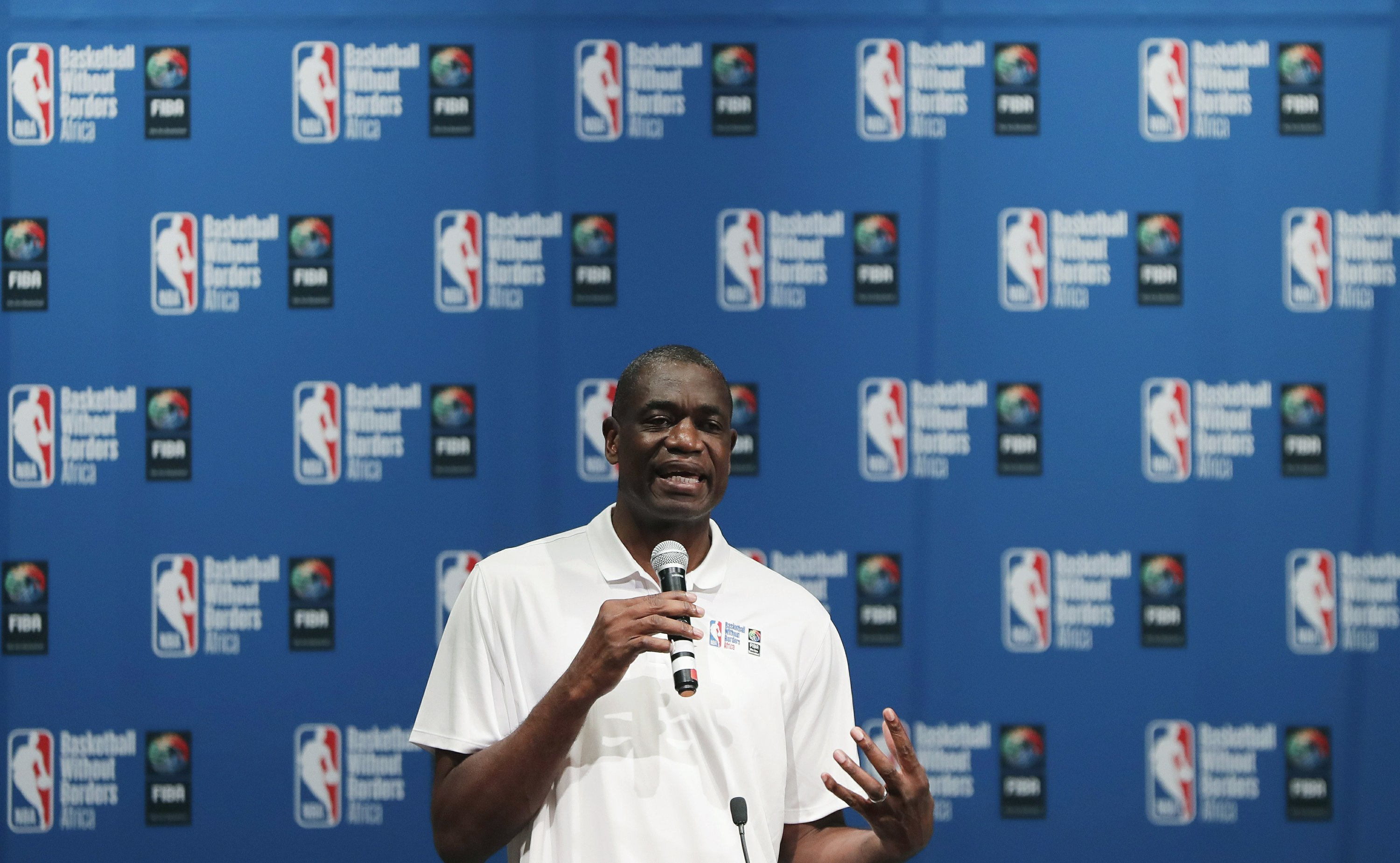 US officials recruit Dikembe Mutombo for Ebola messages